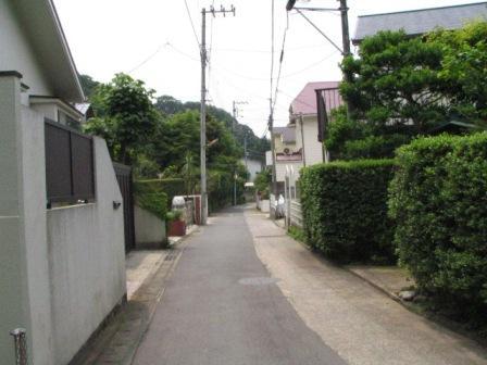 逗子市山の根住宅街4.JPG